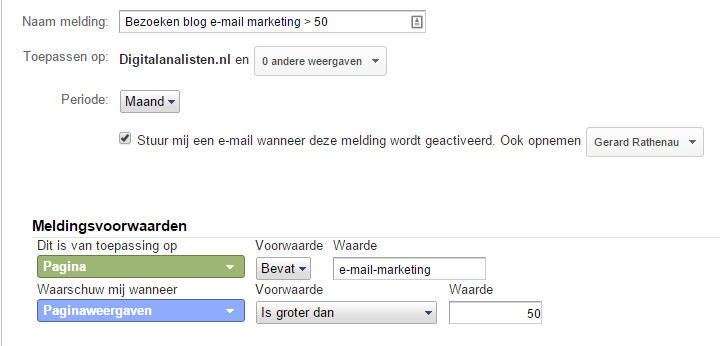 paginavertoningen e-mail marketing meer dan 50